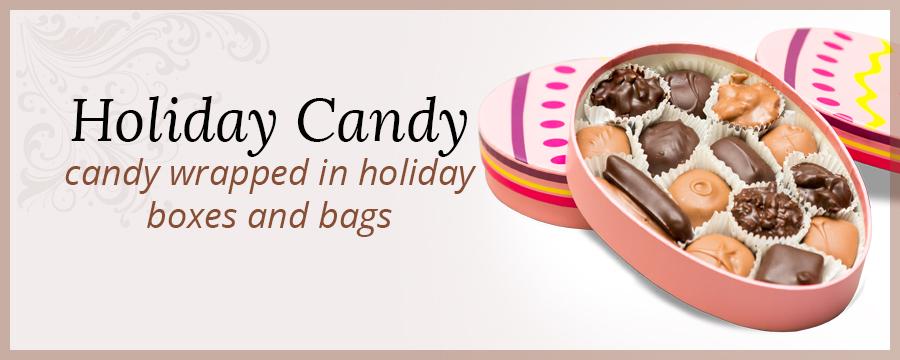 Damask Holiday Candy