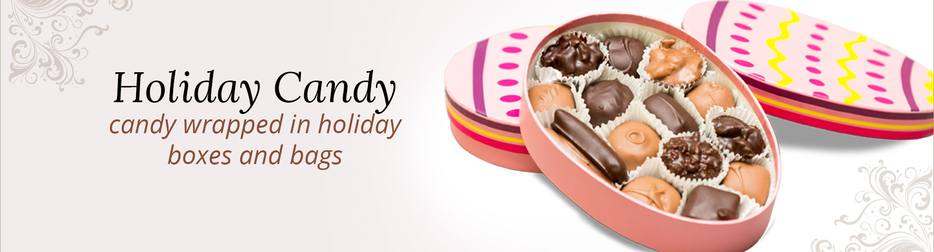Holiday Candy Banner