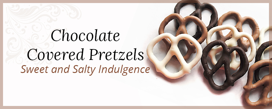 Chocolate Covered Pretzel Banner